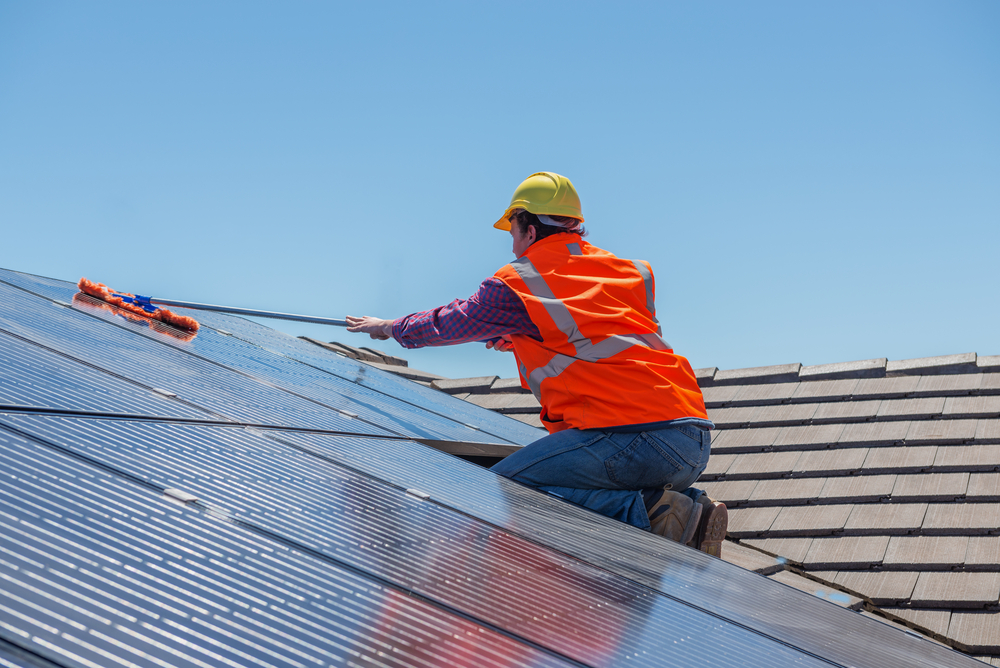 How to Properly Clean Your Solar Panels